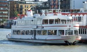 MV Erasmus, Thames Luxury Charters